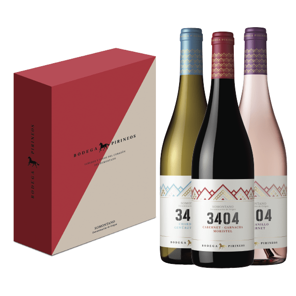 Pirineos pack 3404 vinos