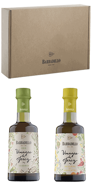 Barbadillo / estuche / vinagre de jerez reserva