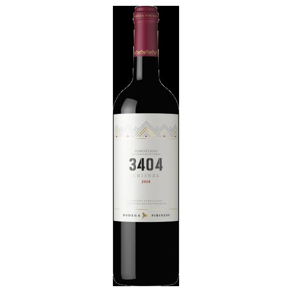 3404 crianza vino tinto bodega pirineos