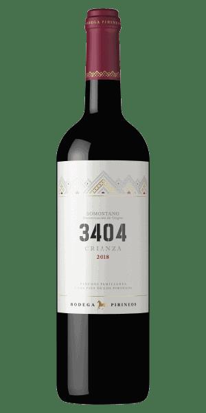 3404 crianza vino tinto bodega pirineo